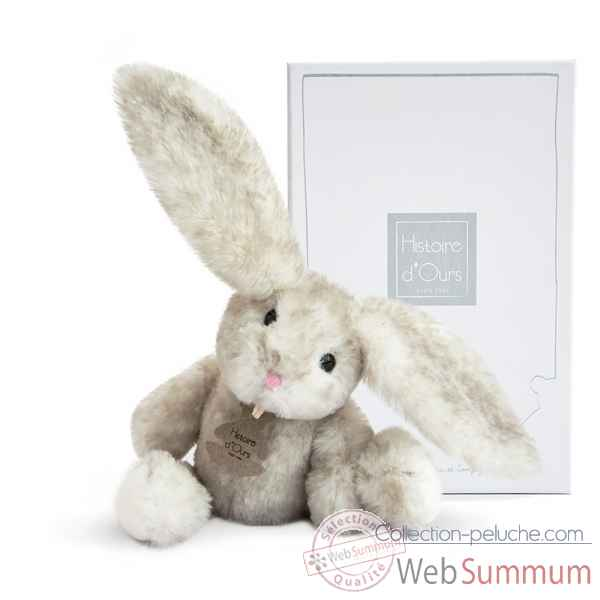 Peluche fluffy - lapin perle pm histoire d'ours -2735