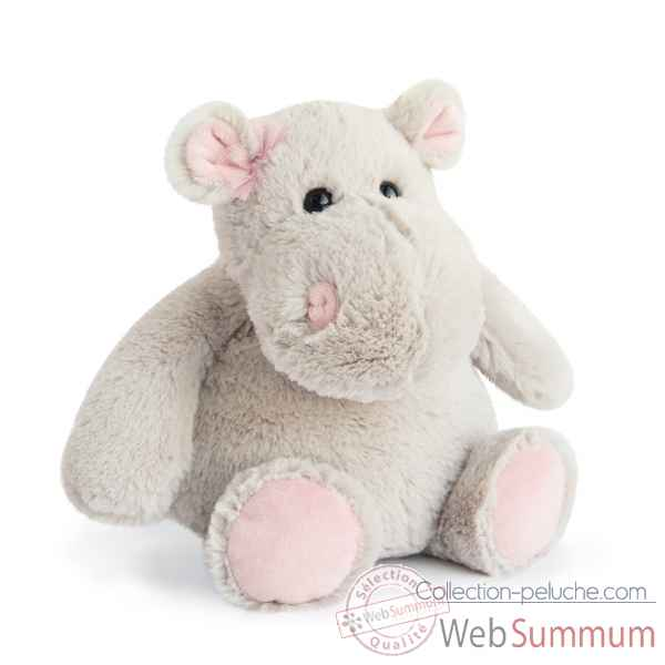 Peluche hippo girl - 25 cm histoire d'ours -2628
