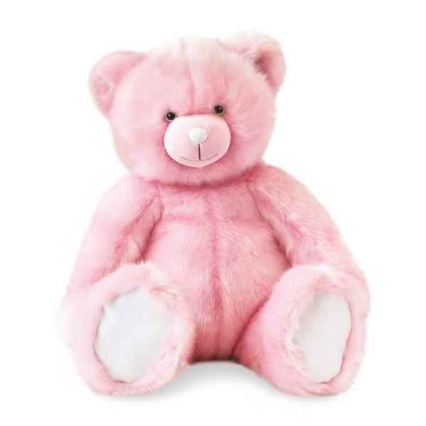 Peluche Ours collection 60 cm - rose sorbet histoire d\'ours -DC3456
