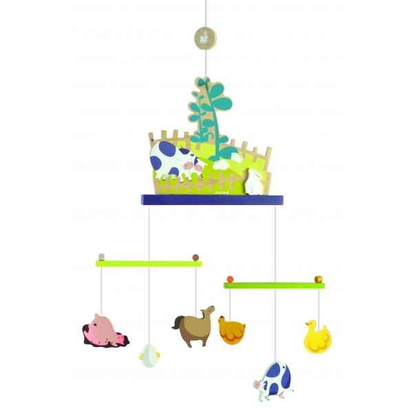 Mobile happy farm - decor Janod J04598