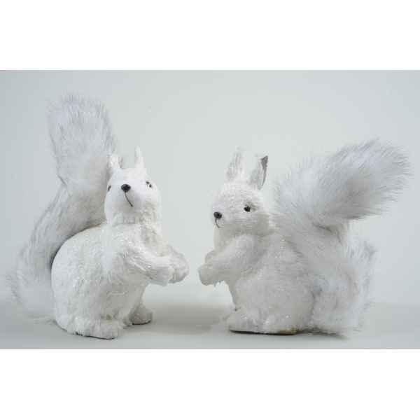 ecureuil coton avec paillettes kaemingk 455523 dans d co. Black Bedroom Furniture Sets. Home Design Ideas