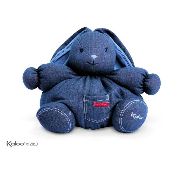 blue denim - mini maxi patapouf lapin tresor Kaloo -K960070