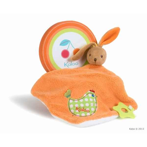 colors - large doudou lapin - poulette Kaloo -K963281