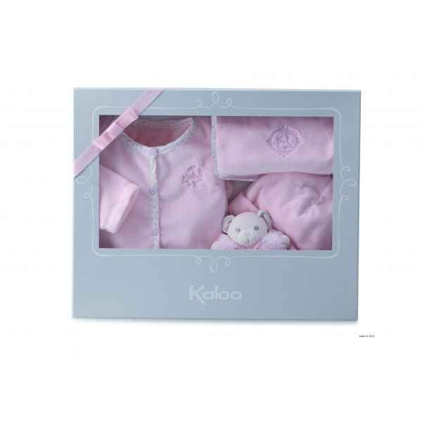 perle - grand coffret cadeau rose 4 pieces Kaloo -K962196