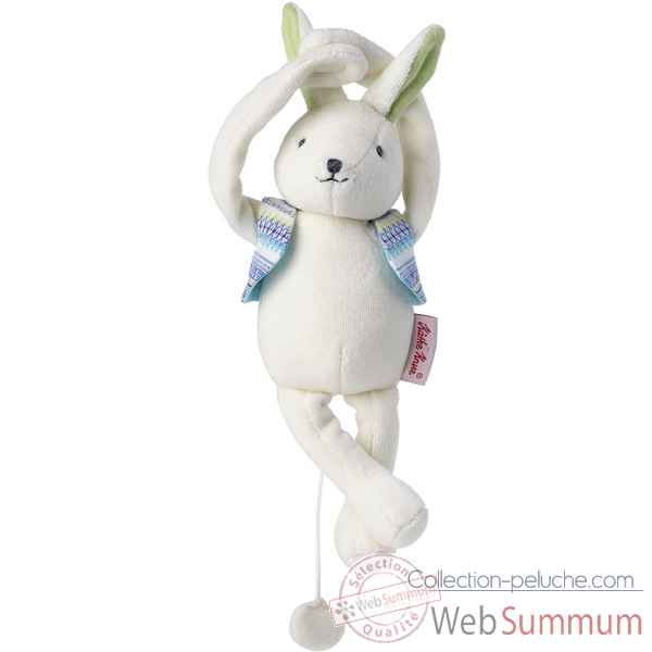 Peluche musicale buddy le lapin kathe kruse -187420