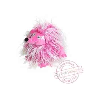 Herisson hot pink dirty hairy, 15 cm Les Petites Marie -DBS0HERHOT