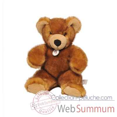 peluche Ours martin peluche - 30 cm - ambre les petites maries -FABH1OURMARA