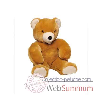 peluche Ours martin peluche - 50 cm - golden les petites maries -FABH3OURMARG