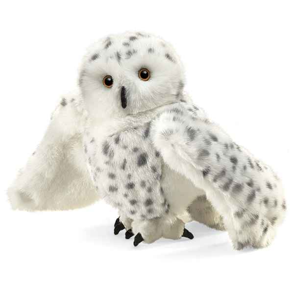Video Marionnette peluche, Hibou des neiges -2236