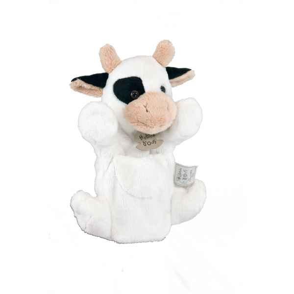 Histoire d Ours Vache Marionnette 25cm