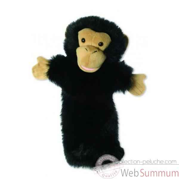 Video Grande marionnette peluche a main - Chimpanzee-26007