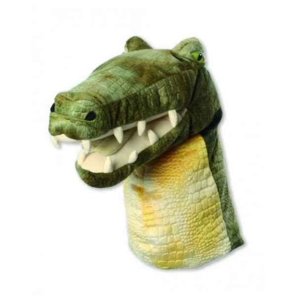 Video Grande Marionnette peluche a main - Crocodile-23201