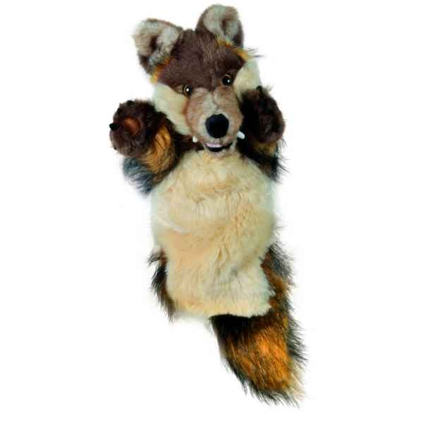 Video Grande marionnette peluche a main - Loup-26032
