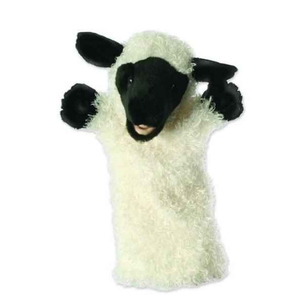Video Grande marionnette peluche a main - Mouton blanc-26030