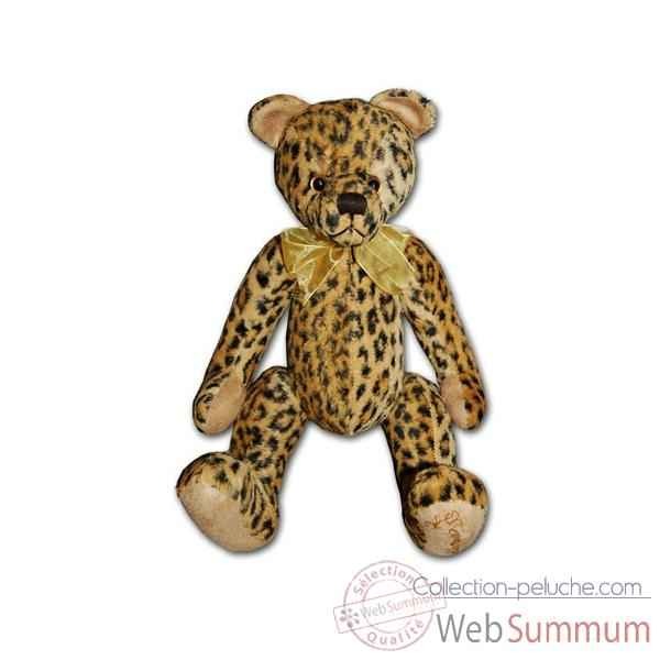 Ours de collection Les Petites Marie Anthonin leopard