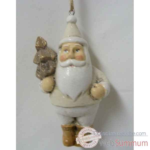 Fig a susp pere noel 11cm Peha -TR-35915