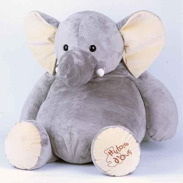 Peluche Geante Elephant : peluche el phant g ant ho1285 de histoire d 39 ours dans peluche g ante ~ Teatrodelosmanantiales.com Idées de Décoration