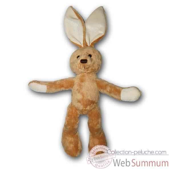 Peluche lapin marron raphael les petites marie 20cm dans - Peluche lapin marron ...