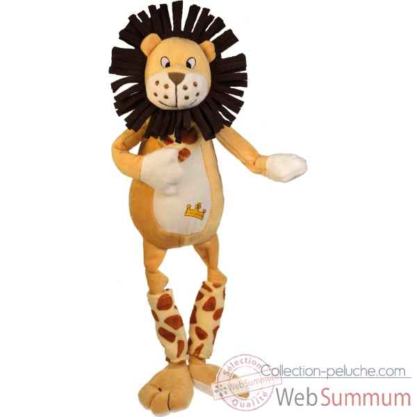 Video Peluche Les Petites Marie Edmond le lion
