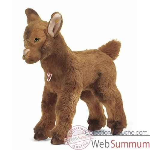 Video Peluche Steiff Chevreau studio debout brun-502439