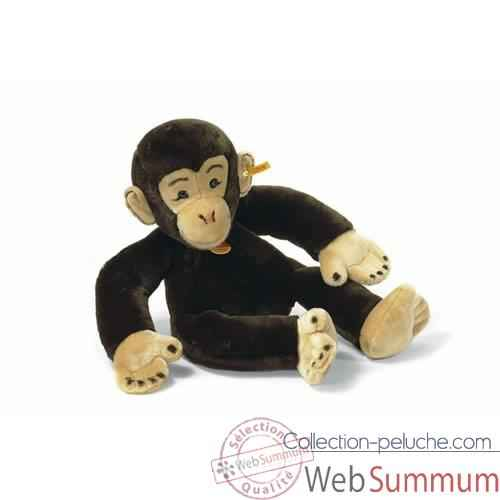 Video Peluche Steiff Chimpanze brun fonce -st064401