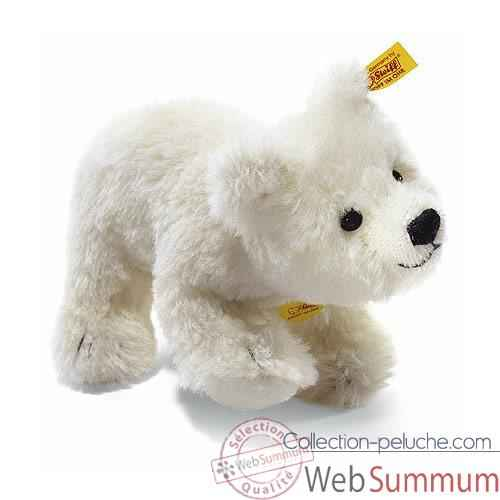 Video Peluche Steiff Ours polaire Knut Alpaga debout -st031632