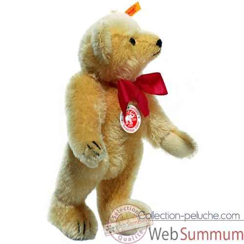 Video Peluche Steiff Ours Teddy 1909 mohair blond -st000355