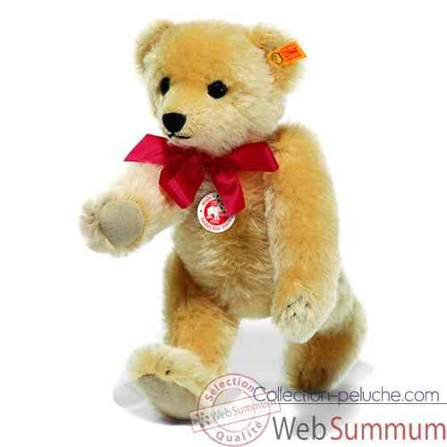 Video Peluche Steiff Ours Teddy 1909 mohair blond -st000379