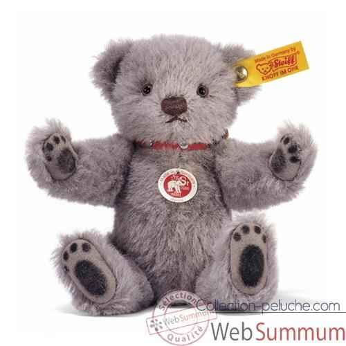 Peluche Steiff Ours Teddy gris -st027727