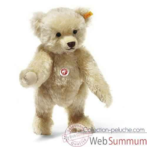 Video Peluche Steiff Ours Teddy mohair blond -st005145
