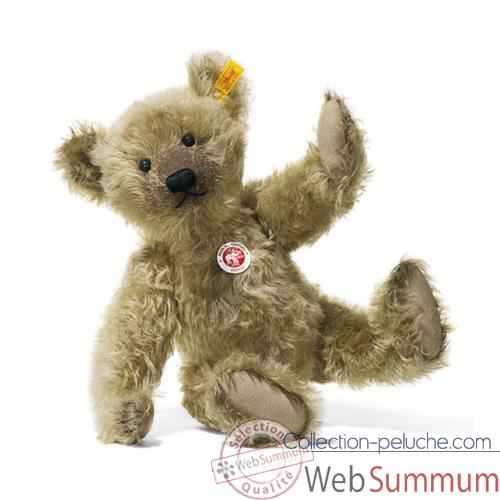 Video Peluche Steiff Ours Teddy mohair cuivre jaune -st000560
