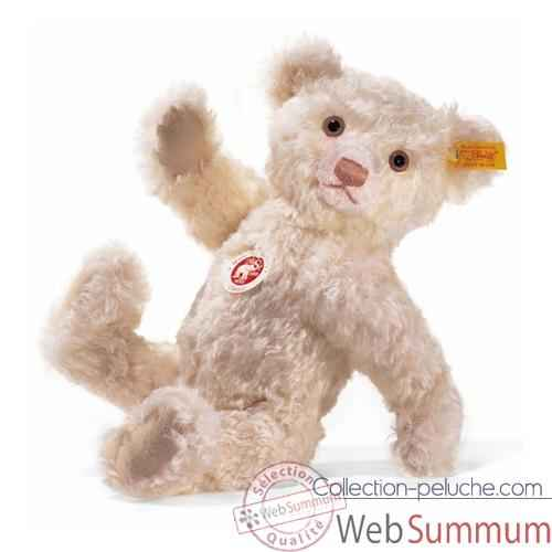 Video Peluche Steiff Ours Teddy mohair rose -st006012