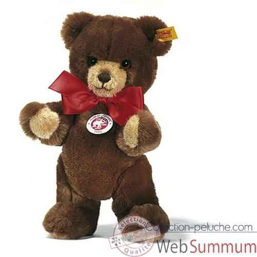 Video Peluche Steiff Ours Teddy Petsy brun -st012556
