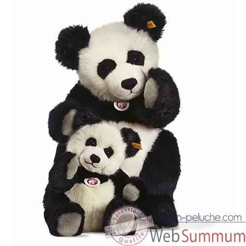 Video Peluche Steiff Panda Ted -st010637