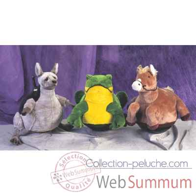 Peluche Magic grenouille cm Piutre -G096