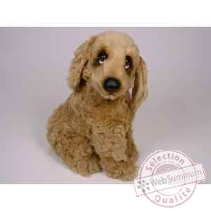 Peluche assise cocker 40 cm Piutre -3202