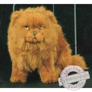 peluche assise chat persan roux 25 cm piutre 2454 dans chats sur collection peluche. Black Bedroom Furniture Sets. Home Design Ideas