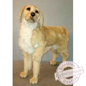 Peluche debout golden retriever 90 cm Piutre -2200