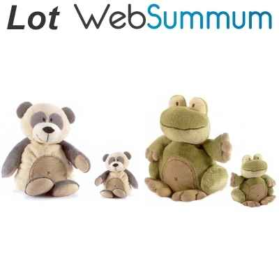 Lot 2 Peluches animadoo Anima -LWS-25