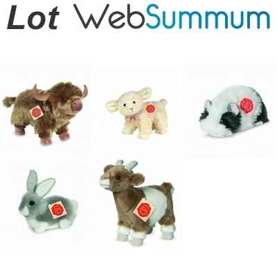 Promotion Peluche animal de ferme Hermann -LWS-142