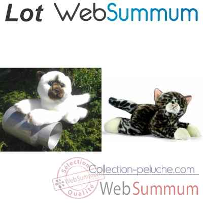 Promotion Peluche chat Anima -LWS-34