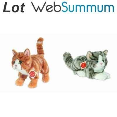 Promotion Peluche chat Hermann -LWS-37
