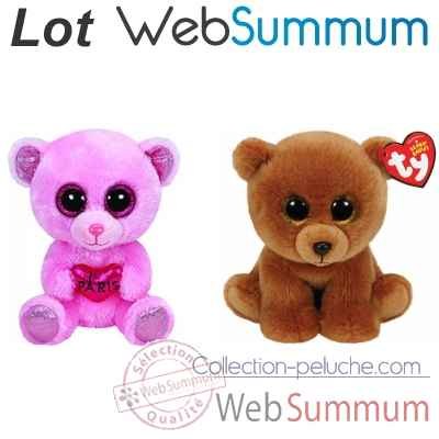 Promotion peluche ours Ty -LWS-204