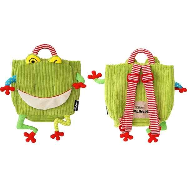 Sac a dos croakos la grenouille Punch and Judy -35013