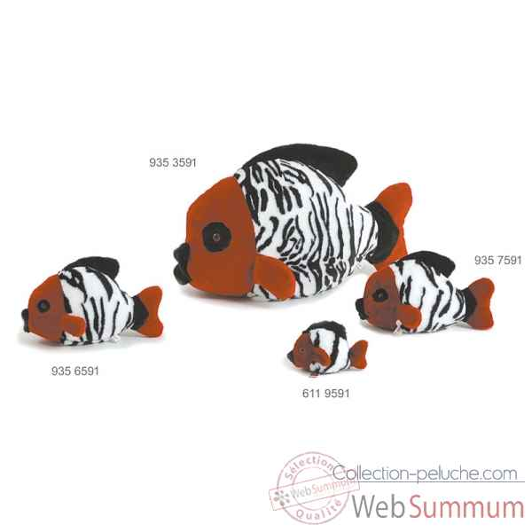 Poisson tropical rouge 30 cm Ramat -9357591