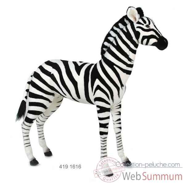 peluche geante zebre