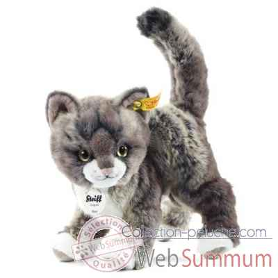 Chat kitty, gris/beige STEIFF -099335