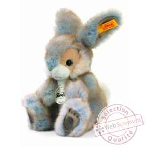 Lapin poppel, gris chine STEIFF -80098