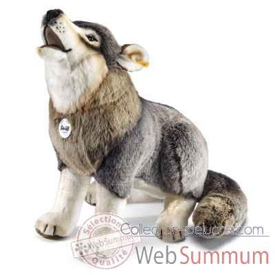 Loup snorry, gris STEIFF -075759
