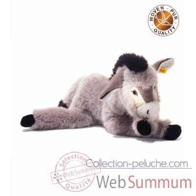 Peluche steiff ane issy, gris chine -101991